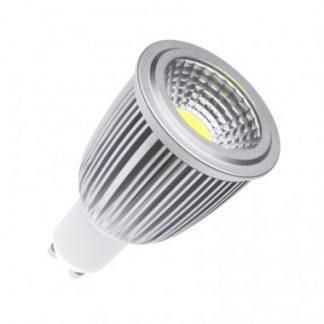 Ampoule LED GU10 COB 90º 7W (Pack de 10)