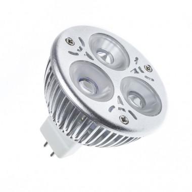 Ampoule LED GU5.3 MR16 12V DC 60º 3W (Pack de 10)