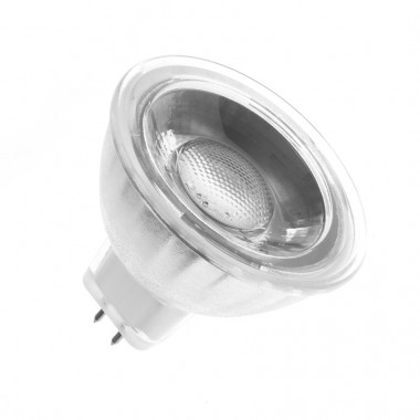 Ampoule LED GU5.3 MR16 COB Cristal 12V 5W (Pack de 10)