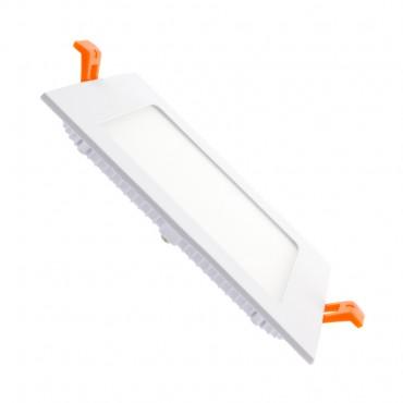 Dalle LED Carrée Extra Plate 12W (Pack de 10)