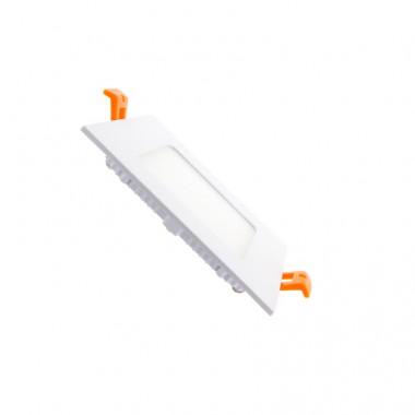 Dalle LED Carrée Extra Plate 6W (Pack de 10)