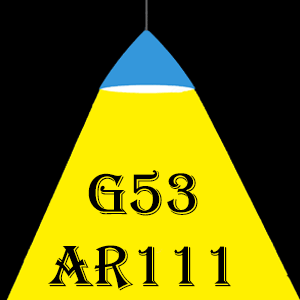 Ampoules LED G53 AR111