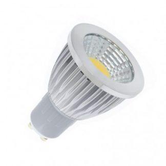 Ampoule LED GU10 COB 90º 5W (Pack de 10)
