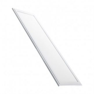 Panneau LED Slim 120x30cm 40W Cadre Blanc