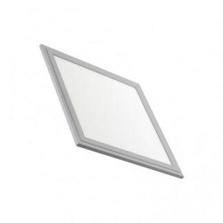 Panneau LED Slim 30x30cm 18W Cadre Argenté