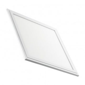Panneau LED Slim Éclairage d'Urgence 30x30cm 18W Cadre Blanc