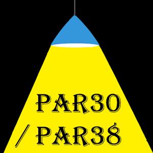 Lampes LED PAR30/PAR38