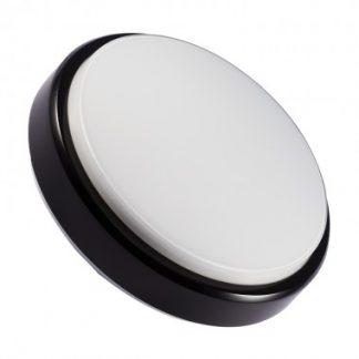 Plafonnier LED Rond Hublot 12W Black (Pack de 10)