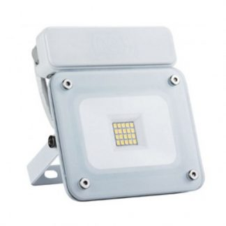 Projecteur LED Extra-Plat PIR 10W Blanc