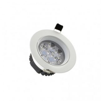 Spot LED Downlight Rond 7x1W (Pack de 10)