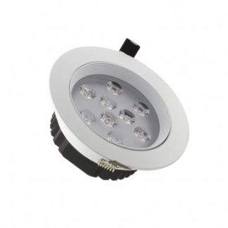 Spot LED Downlight Rond 9x1W (Pack de 10)
