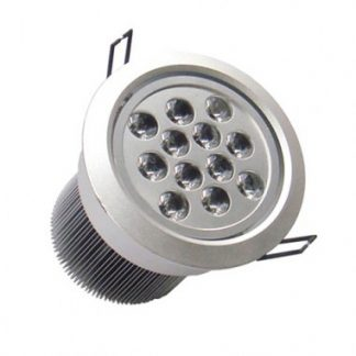 Spot LED Downlight Rond Orientable 12x1W (Pack de 10)
