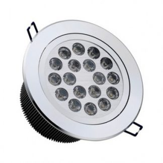 Spot LED Downlight Rond Orientable 18x1W (Pack de 10)