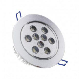 Spot LED Downlight Rond Orientable 9x1W (Pack de 10)