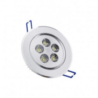 Spot LED Downlight Rond Orientable 5x1W (Pack de 10)
