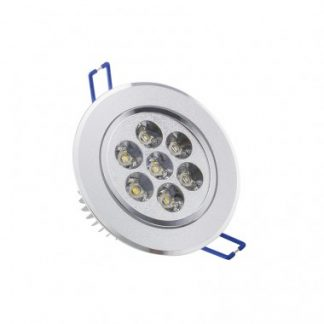 Spot LED Downlight Rond Orientable 7x1W (Pack de 10)